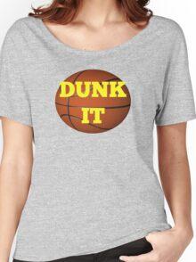 basketball (dunk it) Women's Relaxed Fit T-Shirt