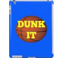 basketball (dunk it) iPad Case/Skin