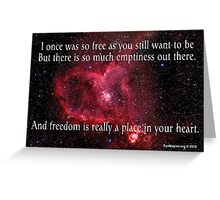 A Place in Your Heart Greeting Card