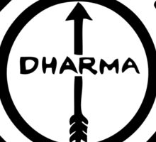 Dharma project. The Arrow Sticker