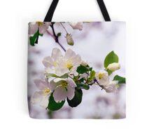 Apple Bloom Tote Bag