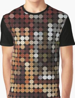 David Bowie, Diamond Dogs, Benday Dots. Graphic T-Shirt