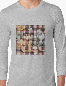 David Bowie, Diamond Dogs, Benday Dots. Long Sleeve T-Shirt