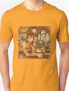 David Bowie, Diamond Dogs, Benday Dots. Unisex T-Shirt