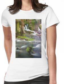 Ebb and Flow Womens Fitted T-Shirt