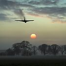 And finally - Vulcan sunset by Gary Eason
