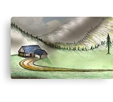 Mountain Home Canvas Print