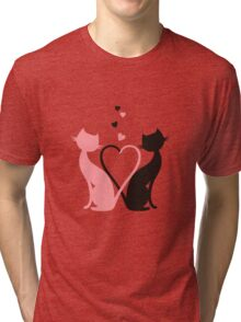 The Love Cats Tri-blend T-Shirt