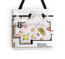 Mary Richards apt. from The Mary Tyler Moore Show Tote Bag