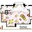 Mary Richards apt. from The Mary Tyler Moore Show by Iñaki Aliste Lizarralde