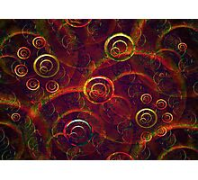 Artistic Abstract Multicolored Photographic Print