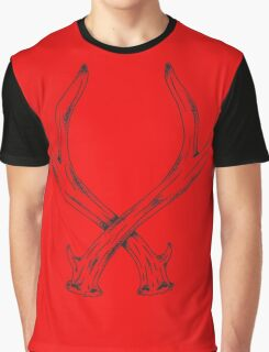 antlers Graphic T-Shirt