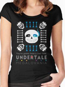 Sans - Undertale Women's Fitted Scoop T-Shirt