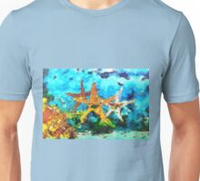 A Group of Asteroidea Starfish Unisex T-Shirt