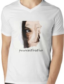 Procrastination Mens V-Neck T-Shirt