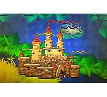 A Medieval Castle for Kids Photographic Print