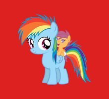 Baby Scootaloo And Rainbow Dash T-Shirt