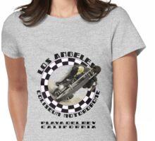 Los Angeles Coliseum Motordrome c1909 Womens Fitted T-Shirt