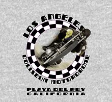 Los Angeles Coliseum Motordrome c1909 Womens Fitted T-Shirt