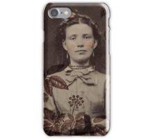 Girl in the Brush iPhone Case/Skin