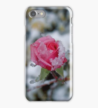 Ice Rose iPhone Case/Skin