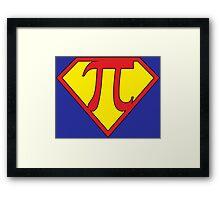Super Pi Framed Print