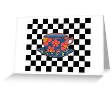 Cup And Saucer Greeting Card