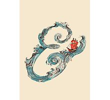 Water Ampersand Photographic Print