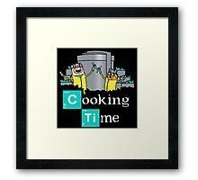Breaking Bad Adventure Time Framed Print