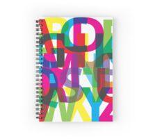 alphabet Spiral Notebook