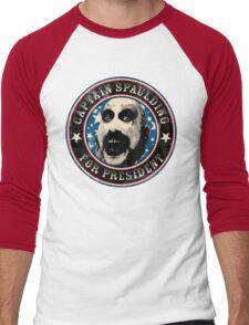 Captain Spaulding for President Men's Baseball ¾ T-Shirt