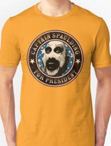 Captain Spaulding for President T-Shirt
