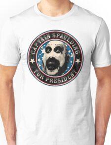 Captain Spaulding for President Unisex T-Shirt