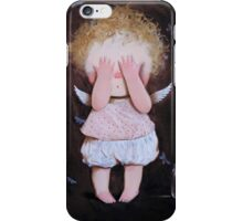 Angel Crying iPhone Case/Skin