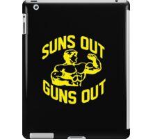 Suns Out Guns Out iPad Case/Skin