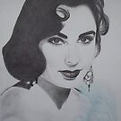 Elizabeth Taylor by Christy  Bruna