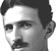 Nikola Tesla by miff78