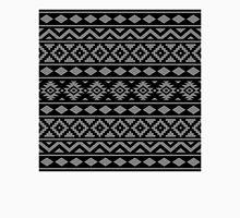 Aztec Essence Ptn III Grey on Black Unisex T-Shirt
