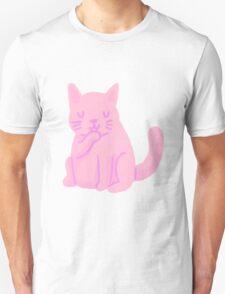 small pink cat Unisex T-Shirt