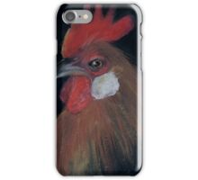bright portrait of a rooster iPhone Case/Skin