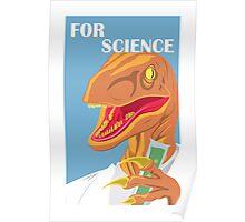 Velociraptor Science Poster