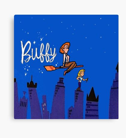 Buffy Bewitched Canvas Print