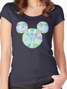 Pop Crystal Women's Fitted Scoop T-Shirt