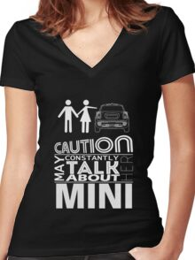 May constantly think about her MINI Women's Fitted V-Neck T-Shirt