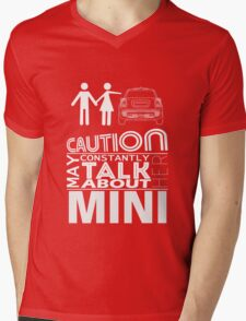 May constantly think about her MINI Mens V-Neck T-Shirt