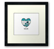 Star Wars - Love  Framed Print