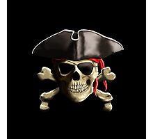 The Jolly Roger Pirate Skull Photographic Print