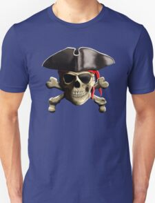 The Jolly Roger Pirate Skull T-Shirt