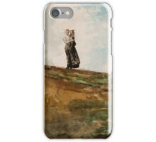 Watching from the Cliffs, Winslow Homer iPhone Case/Skin