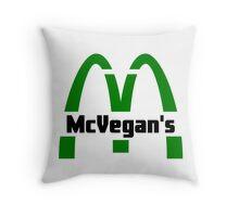 McVegan's Throw Pillow